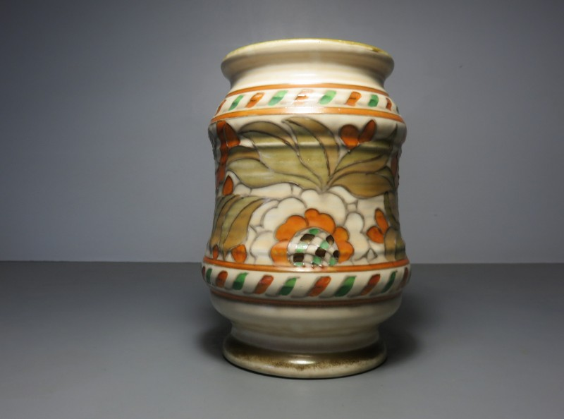 Art Deco Charlotte Rhead Pottery Vase From The English Studio Of